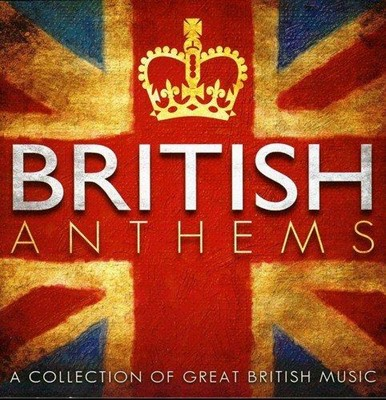 British Anthems CD (CD-Audio)