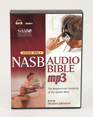 NASB Bible on MP3 CD (MP3 CDs)