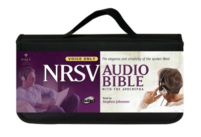 NRSV Audio Bible with Apocrypha CD (CD-Audio)