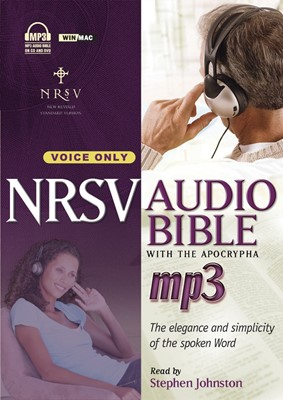 NRSV Audio Bible with the Apocrypha (MP3 CDs)