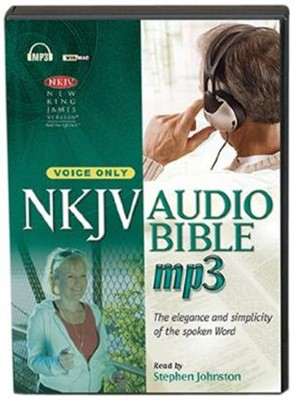 NKJV Bible on MP3 [no music] (MP3 CDs)