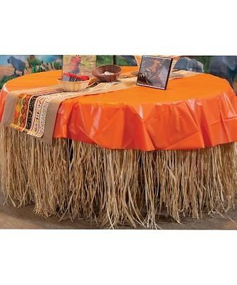 Zoofari Raffia Table Skirt (General Merchandise)