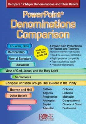 Denominations Comparison - PowerPoint CD-Rom (CD-Rom)