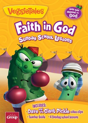 Faith in God: 4 Sunday School Lessons (DVD)