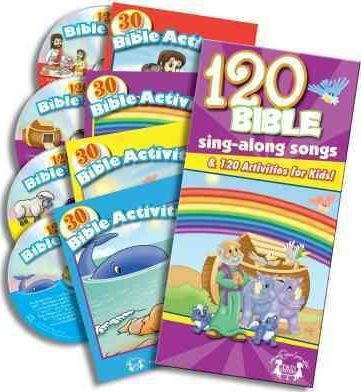 120 Bible Sing Along Activities (Paperback/CD Rom)