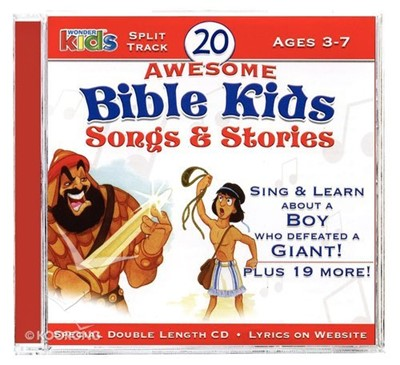 20 Awsome Bible Kids Songs and Stories CD (CD-Audio)