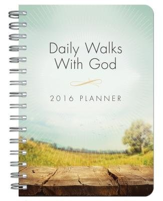 2016 Planner Daily Walks with Go (Spiral Bound)