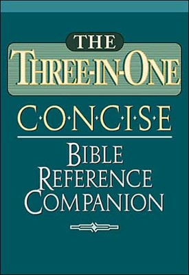 Three-In-One Concise Bible Reference Companion (Paperback)