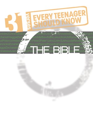 31 Verses Every Teenager Should Know - The Bible (Paperback)