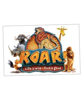 Roar Iron-On Transfers (pack of 10) (General Merchandise)