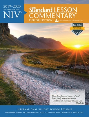 NIV Standard Lesson Commentary 2019-2020, Deluxe Edition (Paperback)