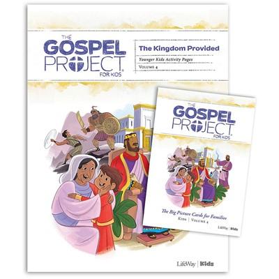 Gospel Project: Younger Kids Activity Pack, Summer 2019 (Pack)