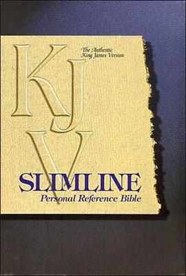KJV Slimline Personal Reference Bible (Leather Binding)