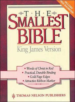 The Smallest Bible KJV (Leather Binding)