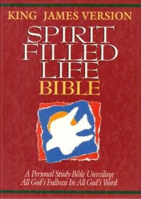 KJV Spirit Filled Life Bible (Hard Cover)