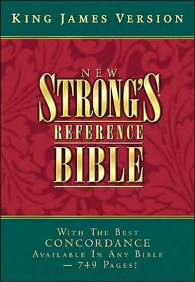KJV New Strong's Reference Bible (Hard Cover)