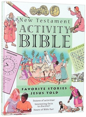 New Testament Activity Bible (Hard Cover)