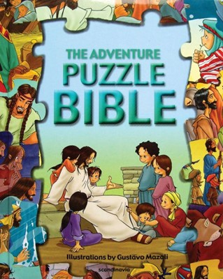 The Adventure Puzzle Bible (Board Book)