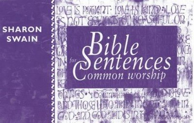 Bible Sentences for Common Worship (Paperback)