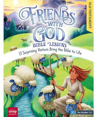 Friends With God Bible Lessons: Old Testament (Paperback/CD Rom)