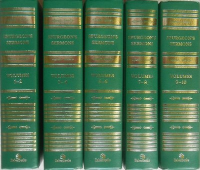 Spurgeon's Sermons: 5 Volumes (Hard Cover)