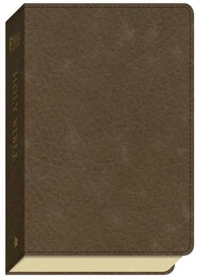 GW Compact Bible Duravella Brown (Imitation Leather)