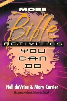 More Bible Activities You Can Do (Paperback)