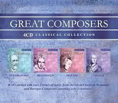 Great Composers 4CD Set (CD-Audio)