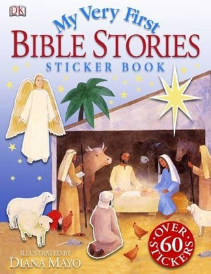 My Very First Bible Stories Sticker Book (Paperback)
