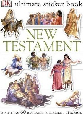 Ultimate Sticker Book: New Testament (Paperback)