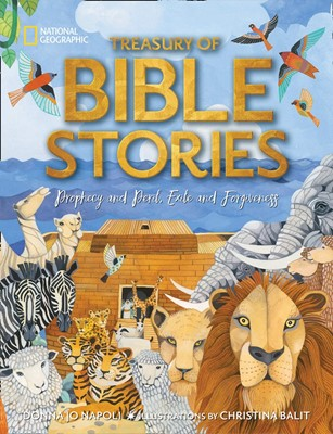 Treasury of Bible Stories (Hard Cover)
