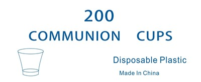 CLC Communion Cups - Pack of 200