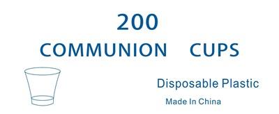 CLC Communion Cups - Pack of 200 (General Merchandise)
