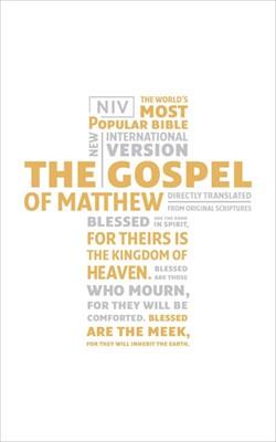 The Gospel of Matthew NIV (Paperback)