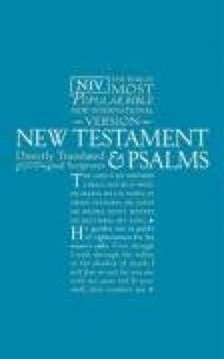 NIV New Testament and Psalms Blue (Paperback)