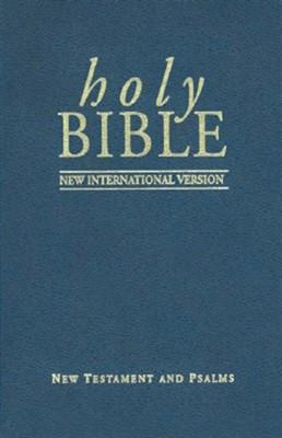 NIV New Testament and Psalms Pocket Version (Paperback)