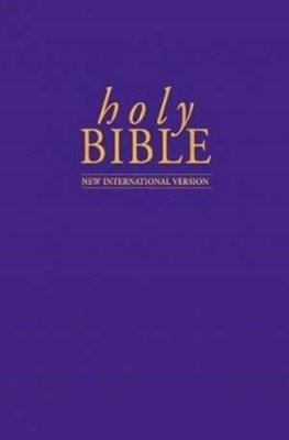 NIV Popular Economy Bible Purple Pack of 10 (Hard Cover)