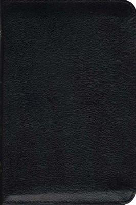 TNIV Personal Zip Bible Black (Leather Binding)