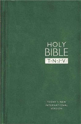 TNIV Personal Bible Suedel/Forest (Hard Cover)
