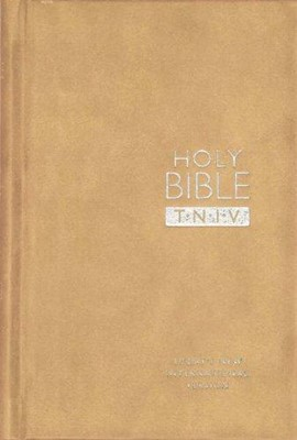 TNIV Personal Bible Suedel/Oatmeal (Hard Cover)