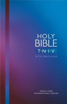TNIV Popular Bible with Guide Blue (Hard Cover)