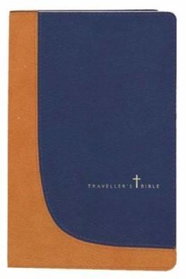 TNIV Traveller's Bible with Zip Blue/Tan (Paperback)