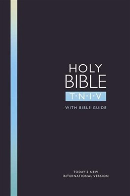 TNIV Popular Bible with Guide Black (Hard Cover)