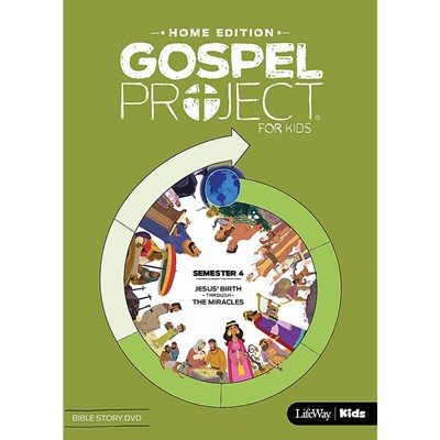 Gospel Project Home Edition: Bible Story DVD, Semester 4 (DVD)