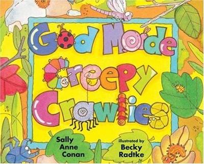 God Made Creepy Crawlies (Paperback)