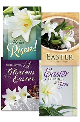 Easter Lillies Boxed Cards (pack of 12)