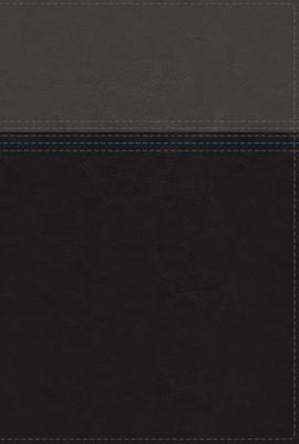 NASB Thinline Bible, Black, Red Letter Ed., Comfort Print (Imitation Leather)