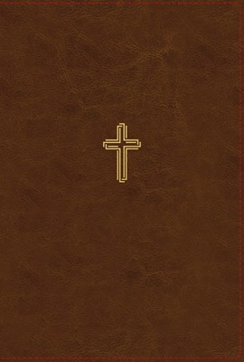 NASB Thinline Bible, Brown, Red Letter Ed., Comfort Print (Imitation Leather)