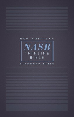 NASB Thinline Bible, Red Letter Edition, Comfort Print (Paperback)