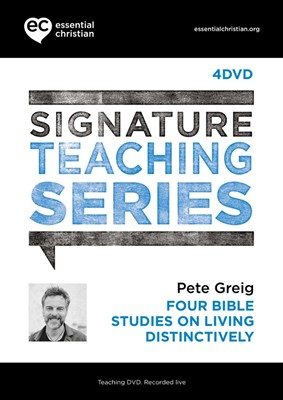 Signature Teaching Series: Living Distinctively DVD (DVD)